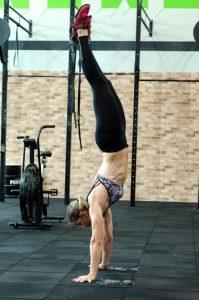 Verticale dell'handstand hold libera