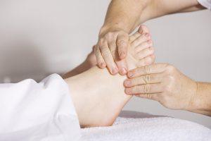 gambe gonfie e microcircolo