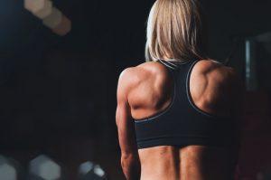 Vertical row per isolare la schiena